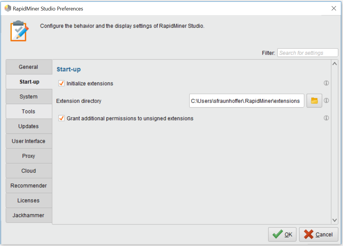Installation Guide for our RapidMiner Extensions | Old ...